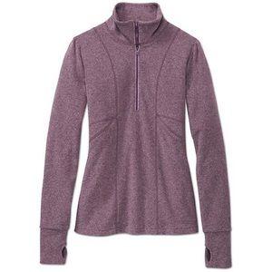 Athleta Half Zip Fleece Pullover
